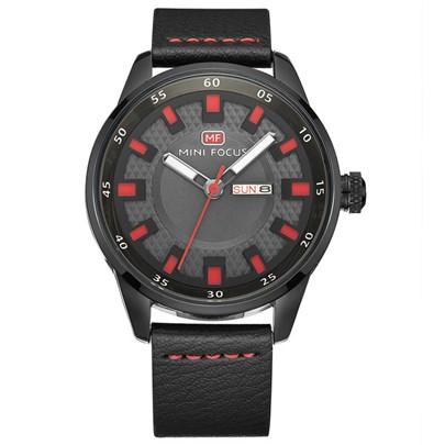 Personalized Calendar Display Glass Men's Watches