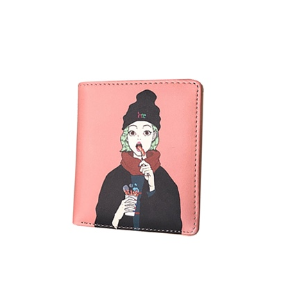 Comic PatternMini Women Wallet