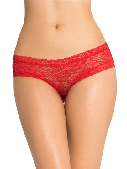 Bowknot Hollow Plain Panty