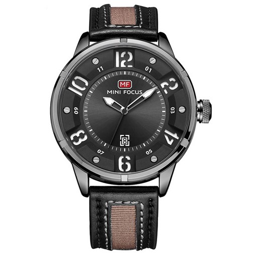 Nylon Leather Strap Waterproof Alloy Men's Watches