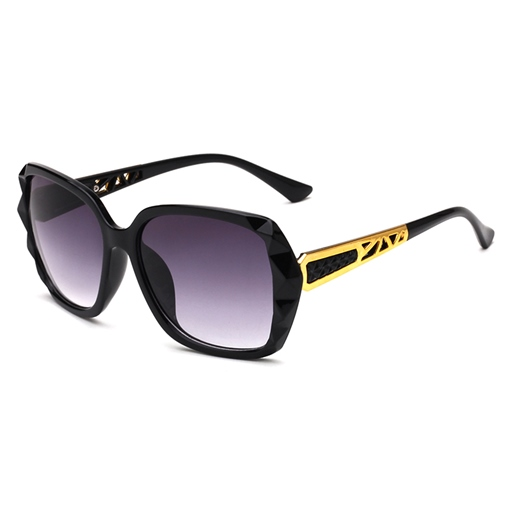 Metal Yurt Anti-UV400 Elegant Sunglasses