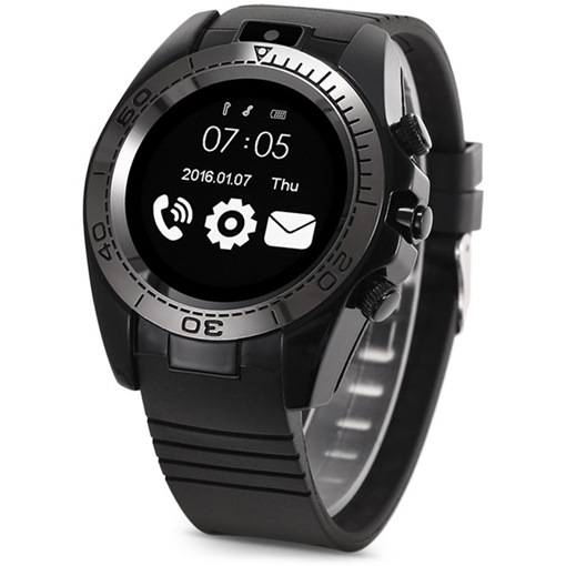 SW007 Smart Watch with Camera/Card-slot 2G Network Sleep Monitor