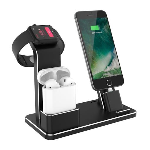 Charging Dock Station Holder Stand for Airpods/Apple Watch/iPhone/iPad