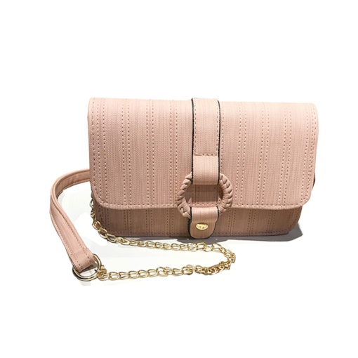 Ladylike Plain PU Women Cross Body Bag
