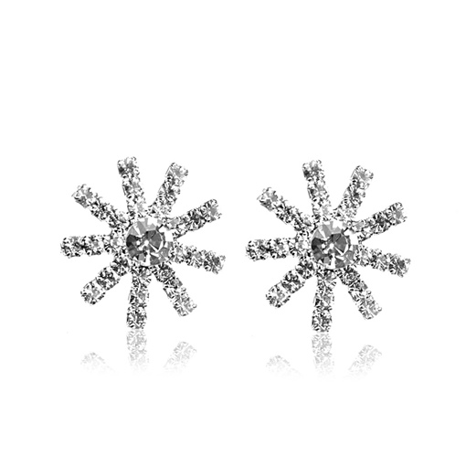 Snowflake Full Drill Shining Earrings