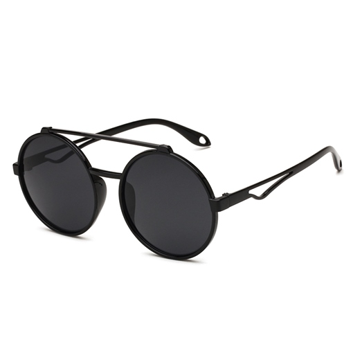 Harden Round Anti-UV400 Sunglasses