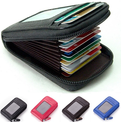 Occident Style Fashion Leather Card Holder