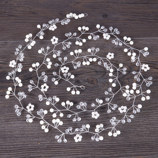 Hot Sale Glass Ball Lengthen Bride Hair Accessories