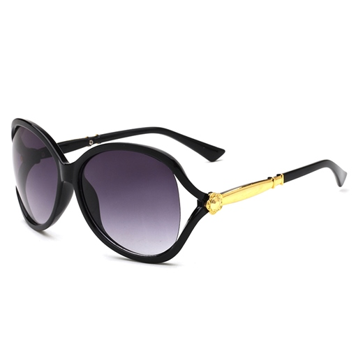 Hollow Out Yurt Large Eye Sunglasses