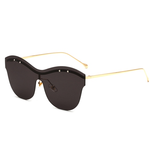 Fashion AC Resin Rimless Sunglasses
