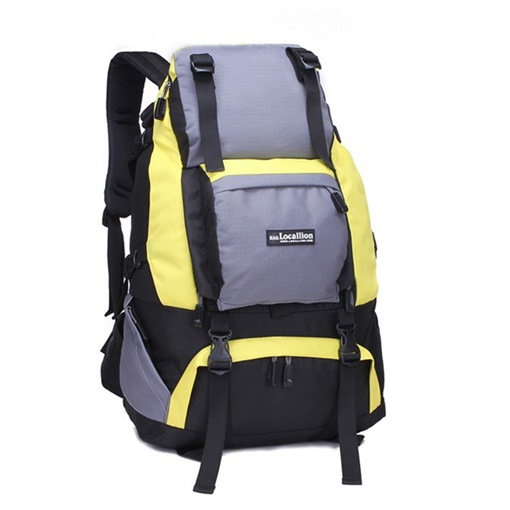 Huge Space Nylon Mountaineering Backpack