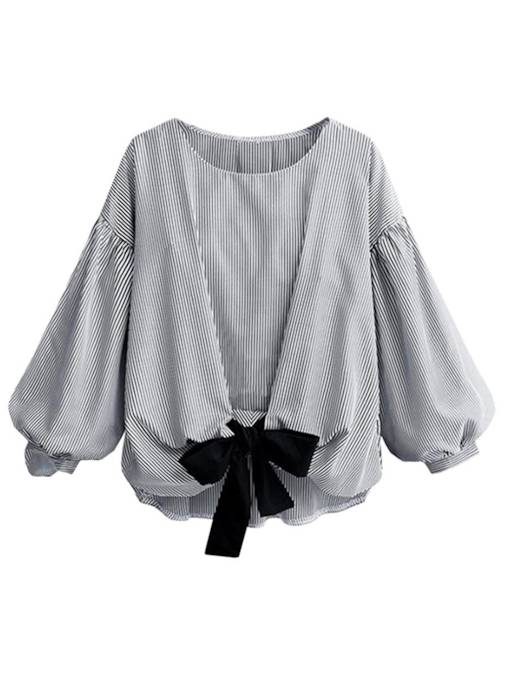 Bowkont Pleated Batwing Sleeve Women's Blouse