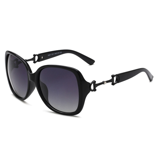 Polarizing Lens Two-Tone Sunglasse