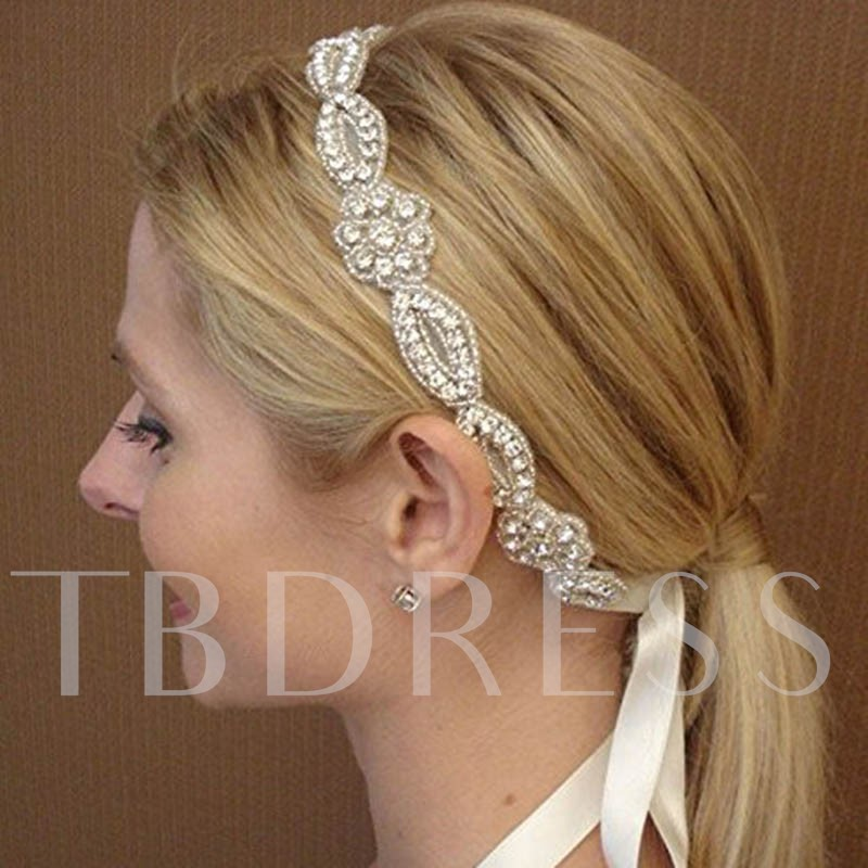 Image of Cloth Diamante Hair Band Wedding Accessories
