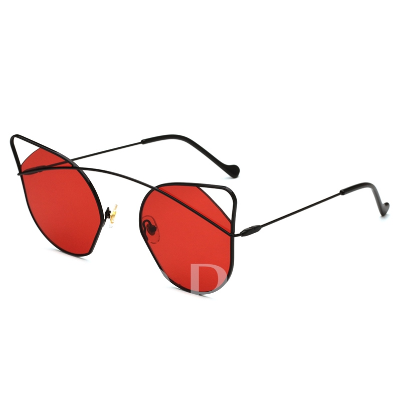Cat Dseign Hollow Out Metal Sunglasses