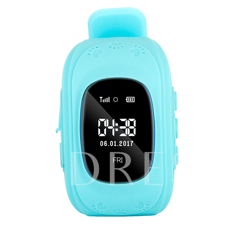 Q50 Kid Smart Watch Phone with Anti-lost GPS Tracker SOS Call for Child