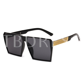 Irregular Quadrangle Reshin Sunglasses