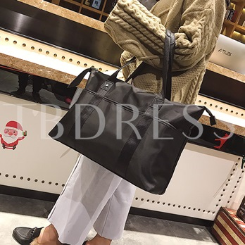 Casual Huge Space Oxford Traveling Tote Bag