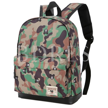 Casual Camouflage Nylon Children Backpack