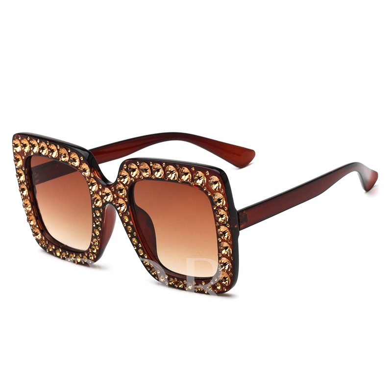 Full Drill Large Frame Yurt Sunglasses