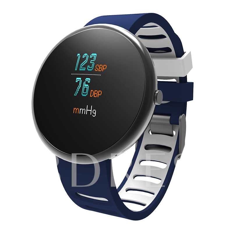 I10 Smart Watch Curved Glass Screen Blood Pressure Monitor for Cell Phones