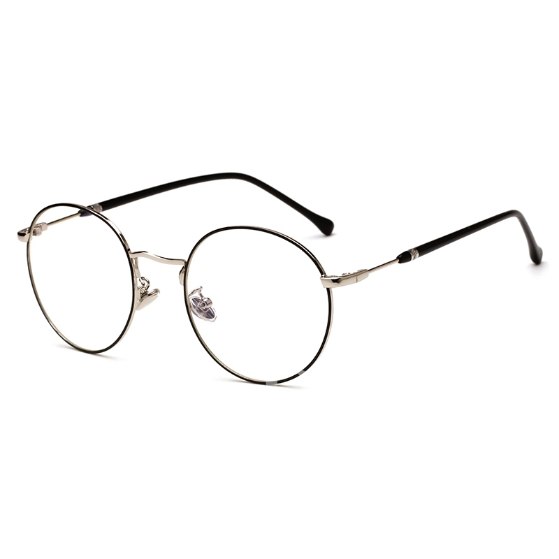 Metal Frame Plain Korean Style Sunglasses