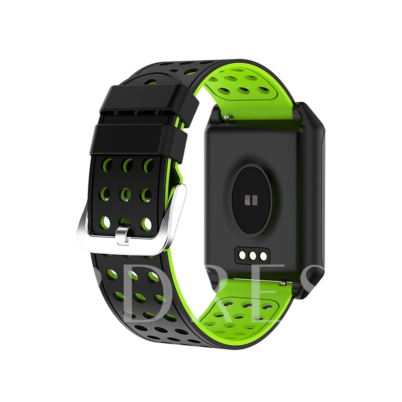 R11 Smart Watch Curved Lens Dynamic Heart Rate Monitor for iPhone Android