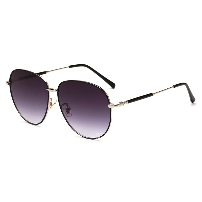 Metal Frame Radiation Protection Sunglasses