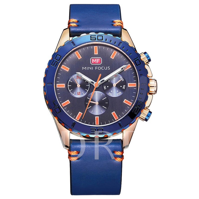 Water Resistant Quartz Glass Men's Watches