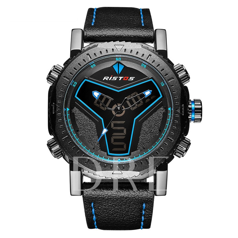 Luminous Buckle Strap Men's Watches