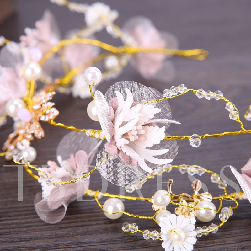 Korean Style Imitation Pearl Bride Hair Accessories