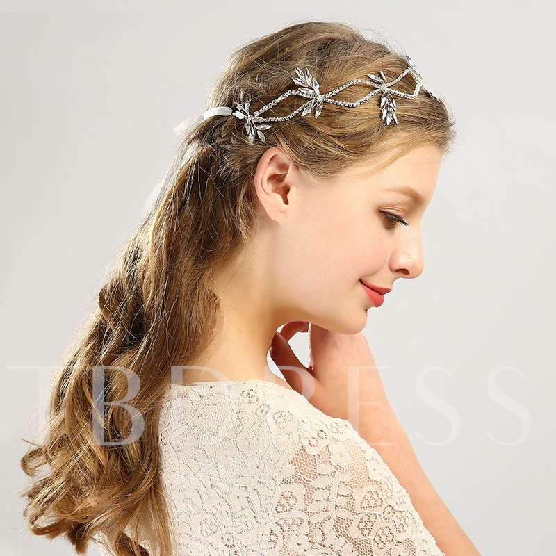 Elegant Rhinestone Inlaid Hair Band Accessories