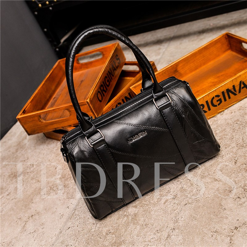 Casual Huge Space Zipper Women Tote Bag