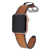 Soft Apple Watch Band Artificial Leather Strap for iWatch Series 3/2/1