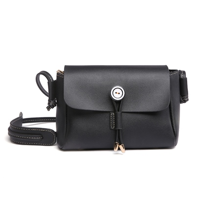 Dressy Plain PU Women Cross Body Bag