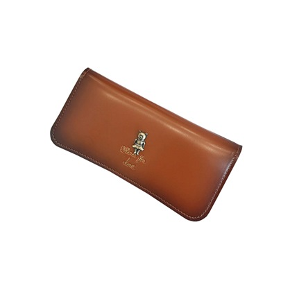 Long Type Plain Zipper Women Wallet