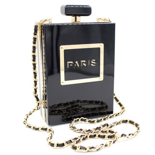 Perfume Design Chain Mini Women Clutch