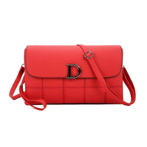 Well Match Solid Color Cross Body Bag