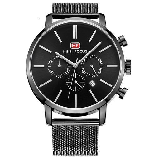 Water Resistant Alloy Waterproof Men's Watches