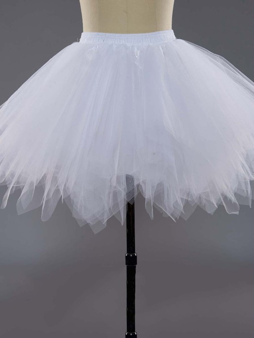 Short Ball Gown Gauze Wedding Petticoat