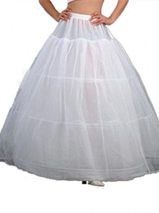 Ball Gown Gauze Wedding Petticoat