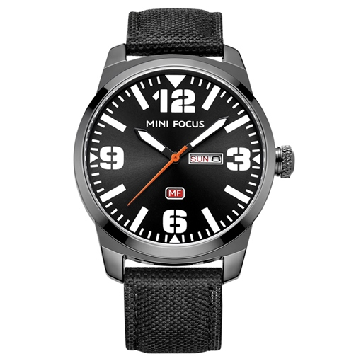 Soild Steel Buckle Alloy Analogue Display Men's Watches