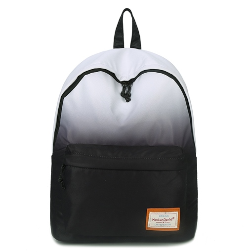 Fashionable Gradient Color Unisex Backpack