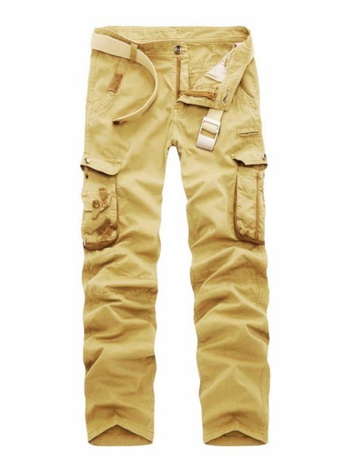 Straight Vogue Cotton Men's Causal Cargo Pants