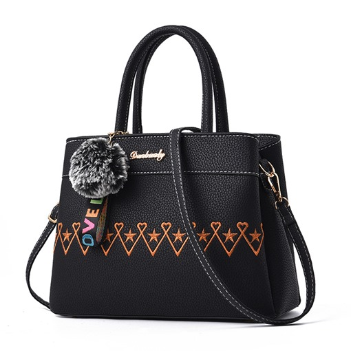 Dressy Embroidery Women Tote Bag