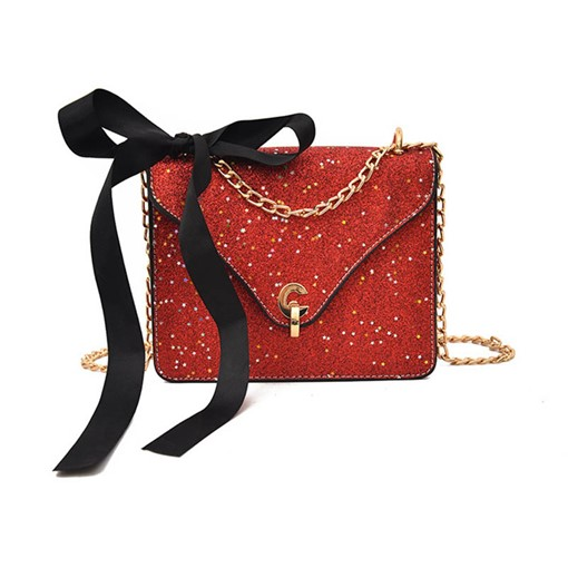 Sequins Chain Cross Body Bag