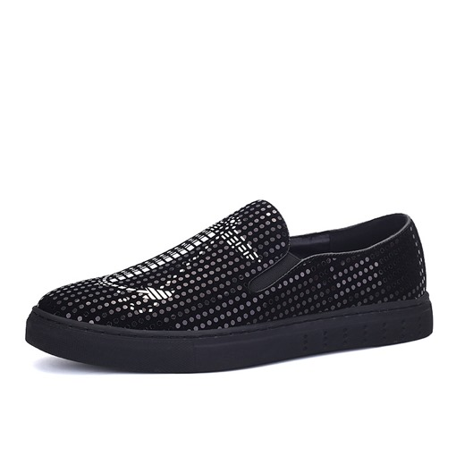 Sequin Slip On Men's Cool Dress Shoes
