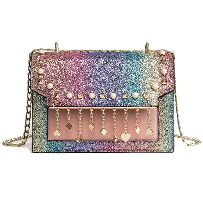 Korean Style Sequins Women Crossbody Bag