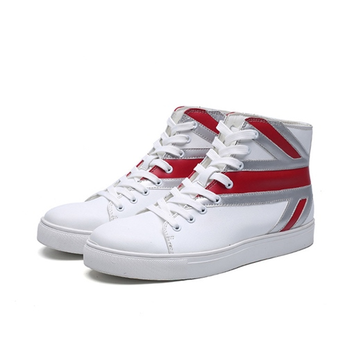 Color Block High Top Men's Fashion Sneakers