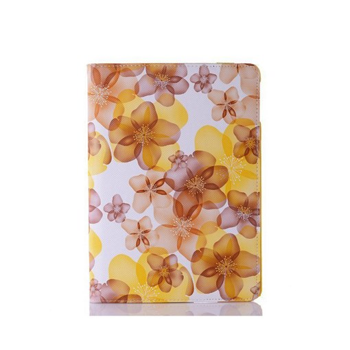 Floral iPad Tablet Case & Stand Rotatable for iPad Air/4/3/2